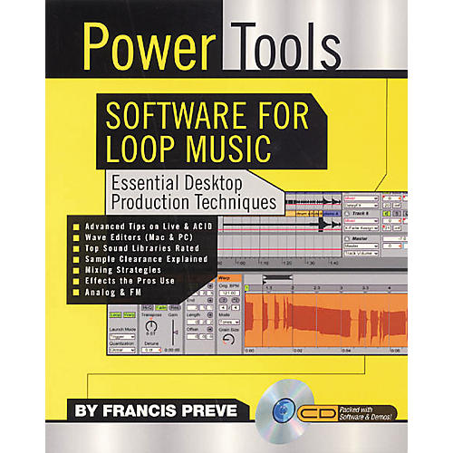 Backbeat Books Power Tools Software for Loop Music (Book/CD-ROM)