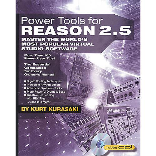 Backbeat Books Power Tools for Reason 2.5 (Book/CD-ROM)-thumbnail