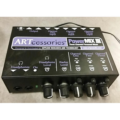 Art PowerMIX III 3 Channel Unpowered Mixer