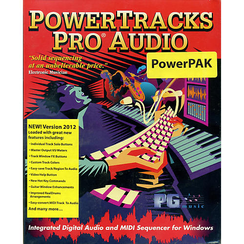 Emedia PowerTracks Pro Audio PowerPAK 2012