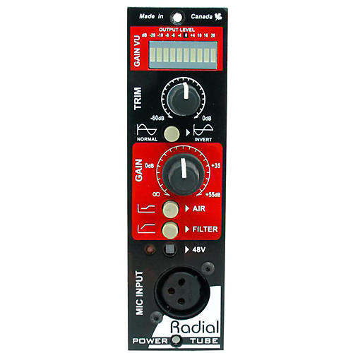Radial Engineering PowerTube 500 Series Tube Preamplifier
