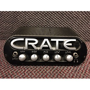 Pre-owned Crate Powerblock Solid State Guitar Amp Head by Crate