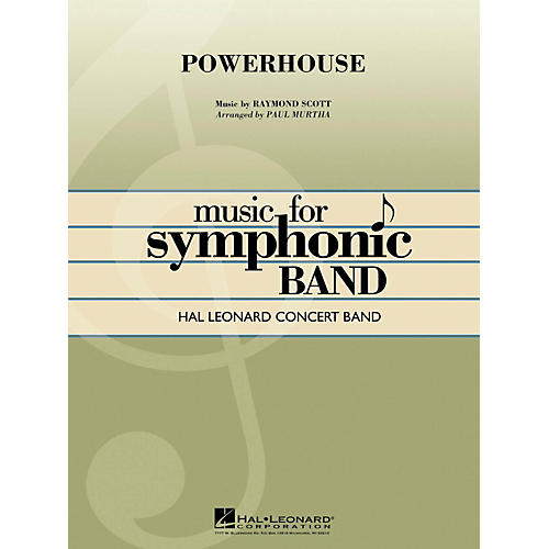 Hal Leonard Powerhouse - Hal Leonard Concert Band Series Level 4