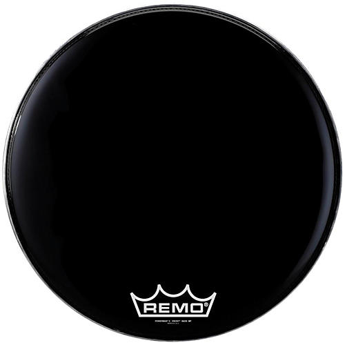 Remo Powermax 2 Marching Bass Drum Head Ebony 26 in.