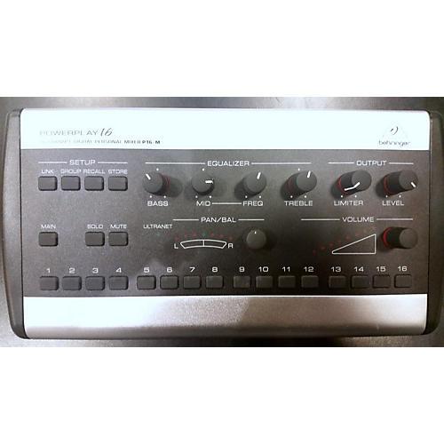 Behringer Powerplay 16 Digital Mixer