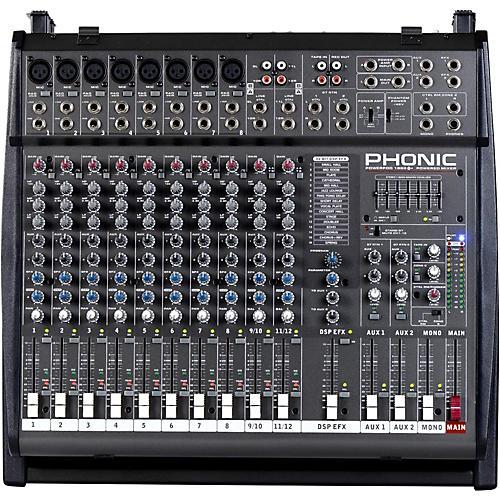 Phonic Powerpod 1860 Deluxe 800W Powered Mixer