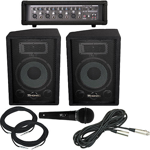 Phonic Powerpod 410/S710 PA Package