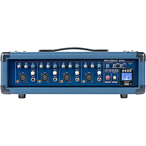 Phonic Powerpod 415R 150W 4-Channel Powered Mixer with USB Recorder