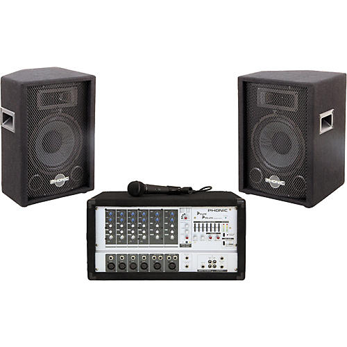 Phonic Powerpod 620/SEM710 PA System-thumbnail