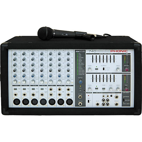 Phonic Powerpod 740 Deluxe Powered Mixer