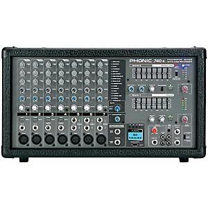 Phonic Powerpod 740 R Powered Mixer by Phonic