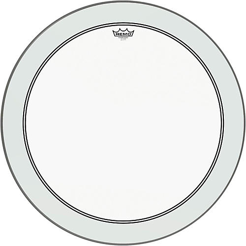 Remo Powerstroke 3 Clear Bass Drum Head with Impact Patch-thumbnail