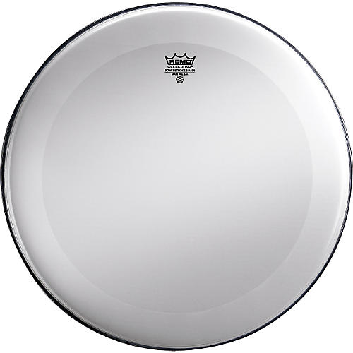 Remo Powerstroke 3 Smooth White No Stripe Bass Drum Head-thumbnail