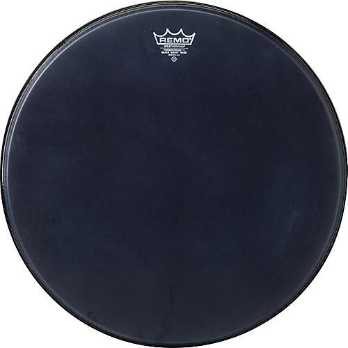 Remo Powerstroke Black Suede Bass Drum Batter Drumhead-thumbnail