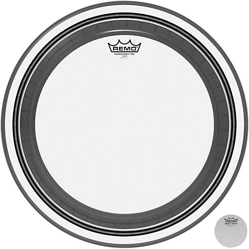Remo Powerstroke Pro Bass Clear Drumhead-thumbnail