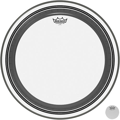 Remo Powerstroke Pro Bass Clear Drumhead 20 in.