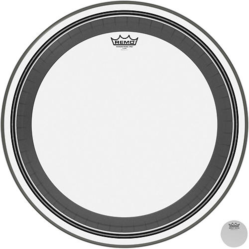 Remo Powerstroke Pro Bass Clear Drumhead 22 in.