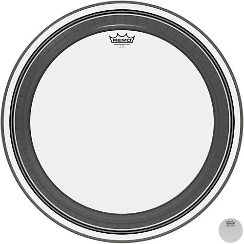 Remo Powerstroke Pro Bass Clear Drumhead 24 in.