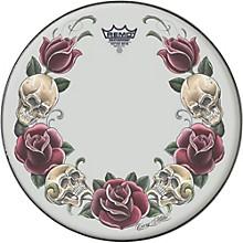 Remo Powerstroke Tattoo Skyn Bass Drumhead, White