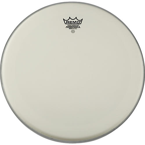 Remo Powerstroke X Coated Drumhead with Clear Dot 14 in.