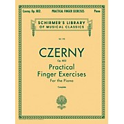 G. Schirmer Practical Finger Exercises Piano Op 802 Complete By Czerny