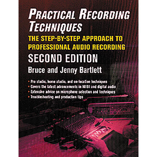 Hal Leonard Practical Recording Techniques Book-thumbnail