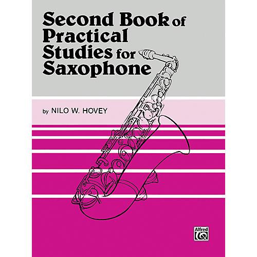 Alfred Practical Studies for Saxophone Book II-thumbnail
