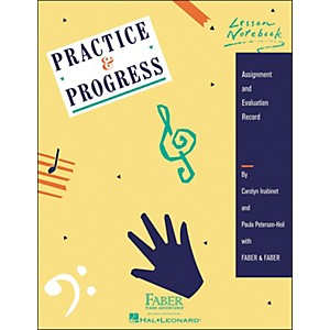 Faber Piano Adventures Practice and Progress Lesson Notebook - Assignment And... by Faber Piano Adventures