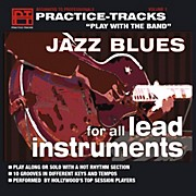 Practice Tracks Practice-Tracks: Jazz Blues for All Lead Instruments CD
