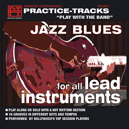 Practice Tracks Practice-Tracks: Jazz Blues for All Lead Instruments CD-thumbnail