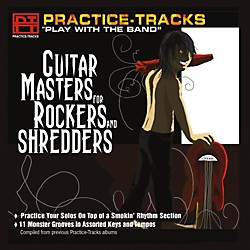 Practice Tracks Practice Tracks CD - Guitar Masters for Rockers and Shredders (KJR060)