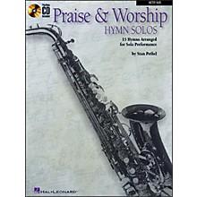 Hal Leonard Praise & Worship Hymn Solos - 15 Hymns Arranged for Solo Performance for Alto Sax Book/CD