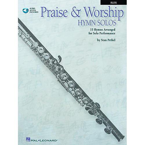 Hal Leonard Praise & Worship Hymn Solos - 15 Hymns Arranged for Solo Performance for Flute Book/CD Pkg-thumbnail