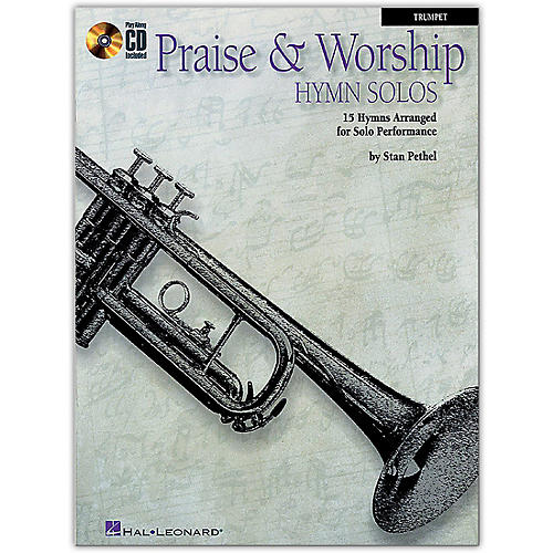 Hal Leonard Praise & Worship Hymn Solos - 15 Hymns Arranged for Solo Performance for Trumpet Book/CD-thumbnail
