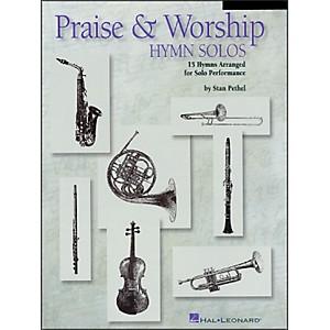 Hal Leonard Praise and Worship Hymn Solos - Trombone/Baritone Book/CD Package