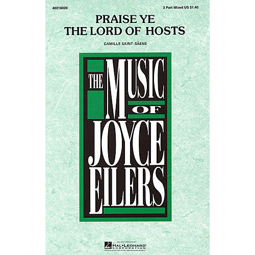 Hal Leonard Praise Ye the Lord of Hosts 3-Part Mixed arranged by Joyce Eilers