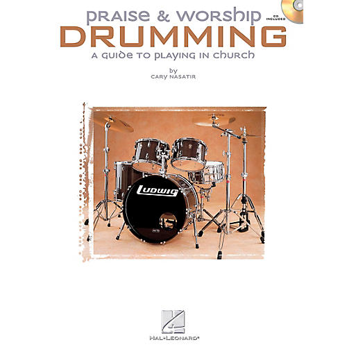 Hal Leonard Praise and Worship Drumming (Book and CD Package)-thumbnail