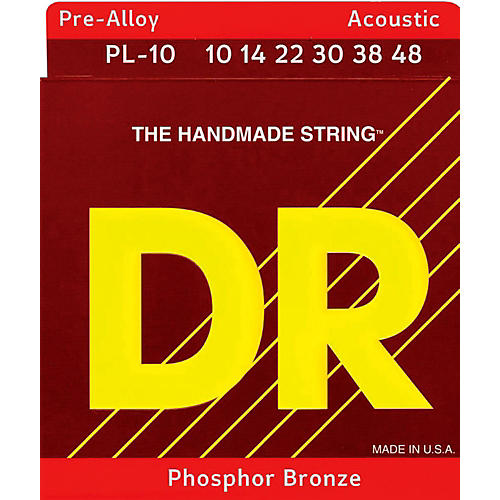 DR Strings Pre-Alloy Phosphor Bronze Lite Acoustic Guitar Strings