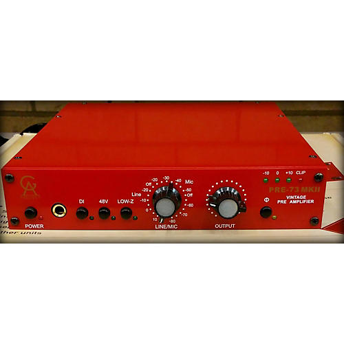 In Store Used Pre73 Mk11 Microphone Preamp