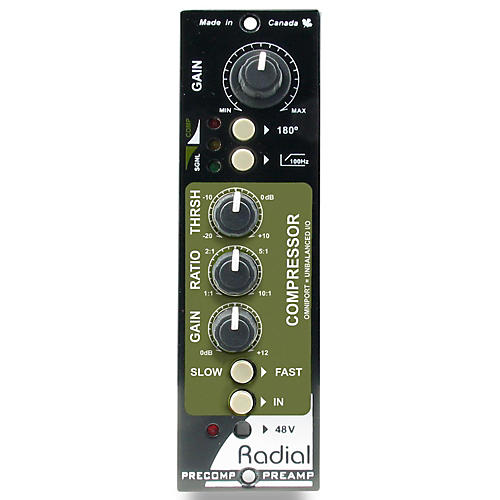 Radial Engineering PreComp 500 Series Channel Strip