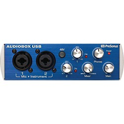 PreSonus AudioBox USB 2X2 USB Recording System (ABOX)