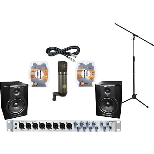 M-Audio PreSonus FP10 and M-Audio BX5a Recording Package