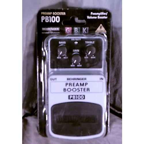 Behringer Preamp Booster PB100 Effect Pedal