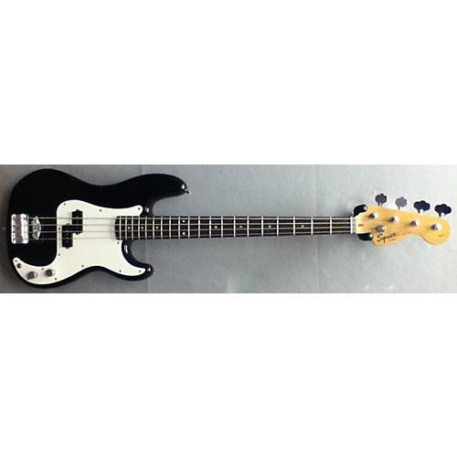 Squier Precision Bass Black Electric Bass Guitar-thumbnail