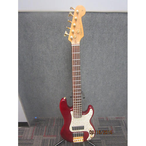 Squier Precision Bass Pro Tone Trans Red Electric Bass Guitar