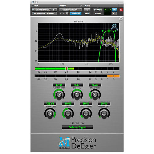 METRIC HALO Precision DeEsser For Pro Tools AAX-thumbnail