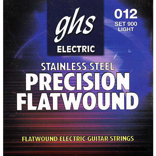 GHS Precision Flatwound Electric Guitar Strings Light-thumbnail