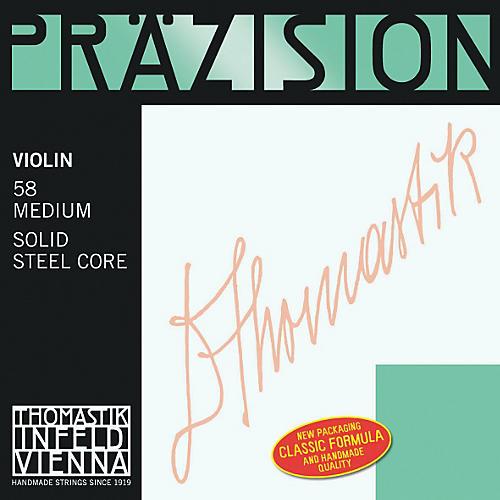 Thomastik Precision Steel 4/4 Size Violin Strings-thumbnail