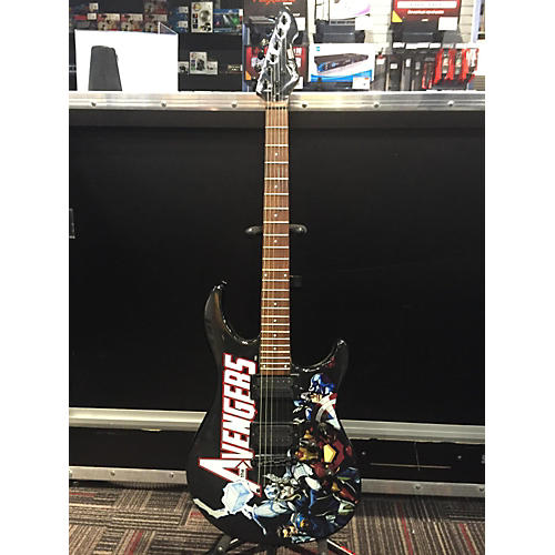 Peavey Predator EXP Marvel Avengers Stoptail Solid Body Electric Guitar-thumbnail