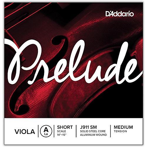 D'Addario Prelude Series Viola A String  13-14 Short Scale